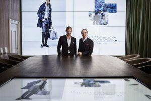 B Tommy Hilfiger and Daniel Grieder in the Digital Showroom
