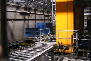 Quelle sysmat GmbH Verschiebewagen Paletten