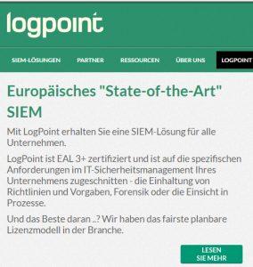 logpoint Teaser