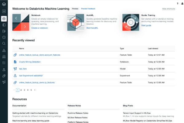 databricksml homepage